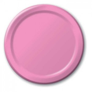 CANDY PINK PLATES